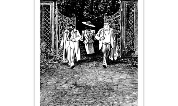 SÉRIGRAPHIE TIF &TONDU - BLUTCH - CAHIER 1