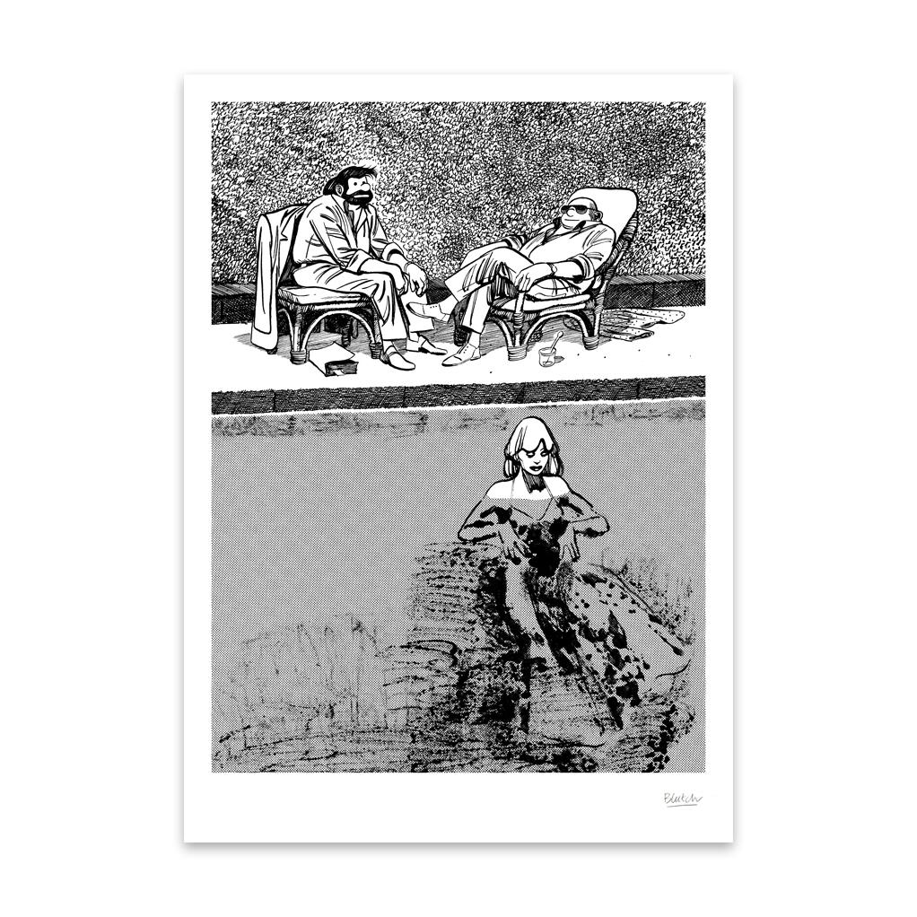 SÉRIGRAPHIE TIF &TONDU – BLUTCH – CAHIER 2